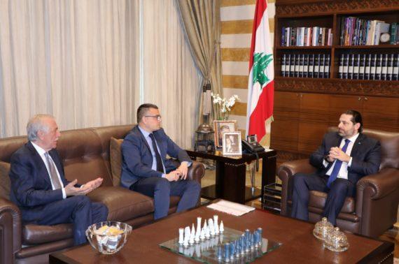 Hariri receives Serbian Minister