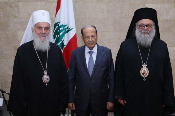 Patrijarh Irinej u Libanu: Sve porušeno biće obnovljeno, ostaju rane za one koji su položili živote